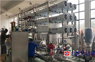 信达膜乳酸脱色设备 河南乳酸企业再合作 设备发往现场