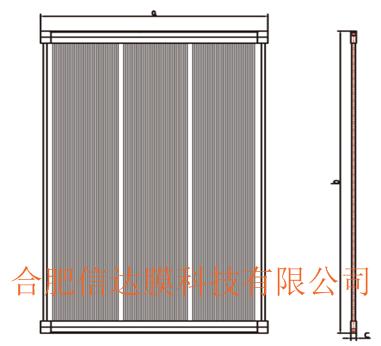 PTFE中空纤维微滤膜元件及膜组件