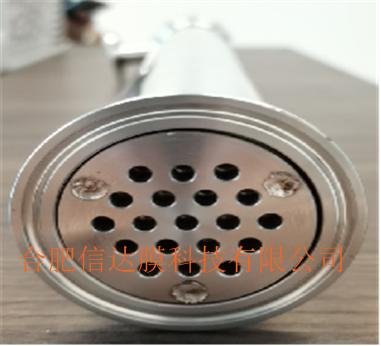 卫生级PTFE柔性管状膜元件及组件 机械密封结构